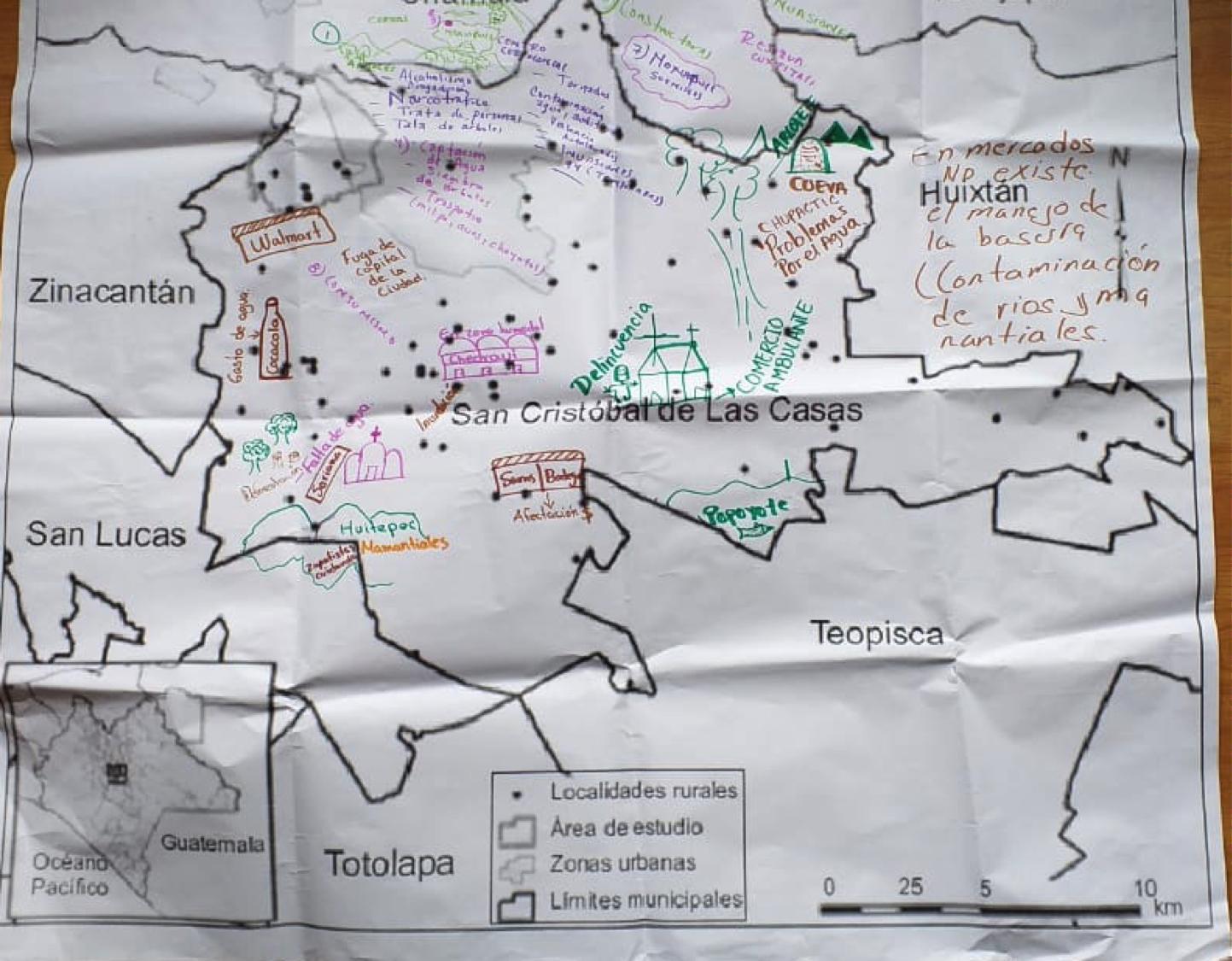 Pronunciamiento de las Defensoras del Agua y los Humedales en San Cristóbal de Las Casas, Chiapas