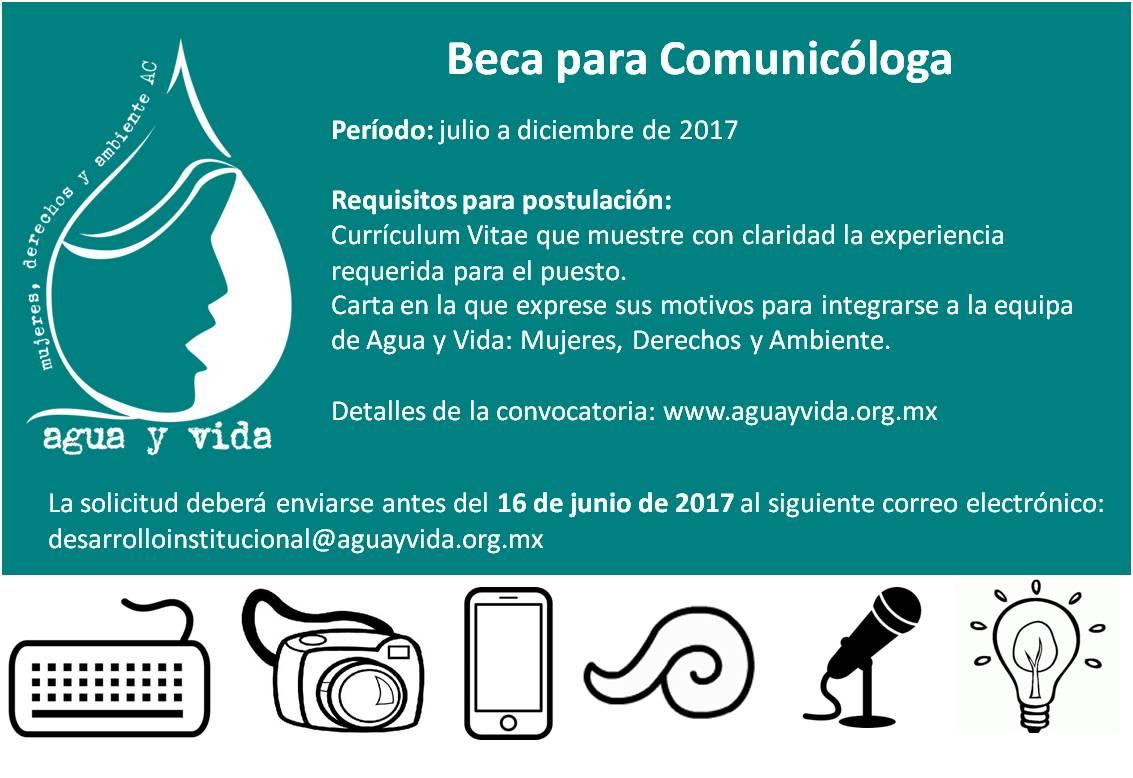 Beca para Comunicóloga