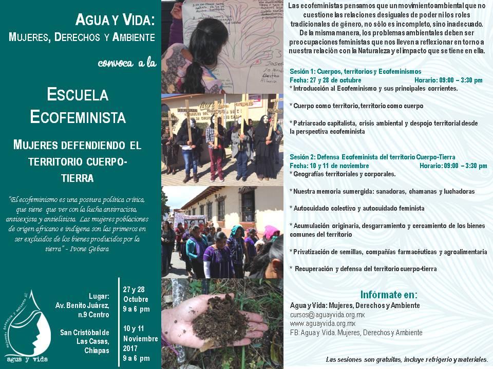 Escuela Ecofeminista Mujeres defendiendo el Territorio Cuerpo Tierra